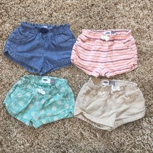 Old navy Short bundle! 18-24m